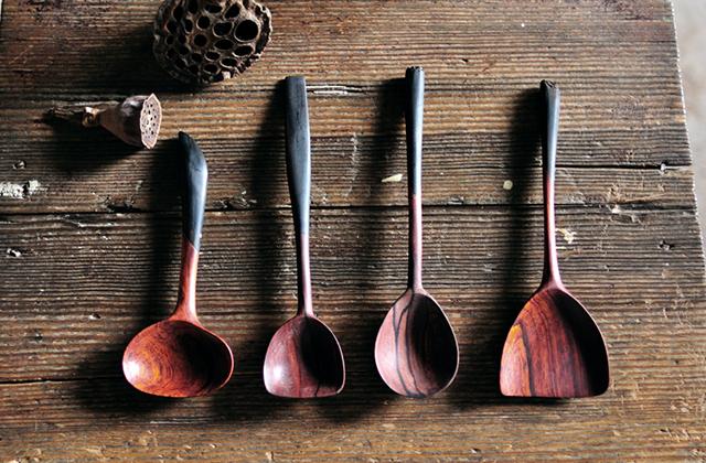 [图]善物 纯手工 木勺子 - 半粒米,中国原创设计作品库