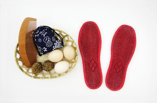 [图]不自然 手工鞋垫 - 半粒米,中国原创设计作品库