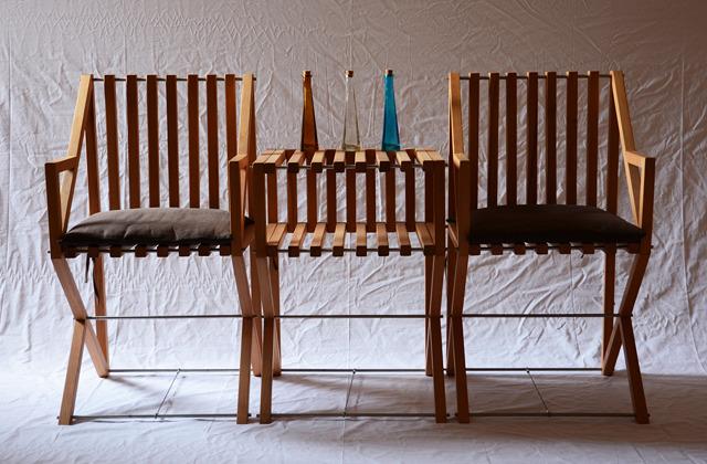三角世界原创设计 待客桌椅组合